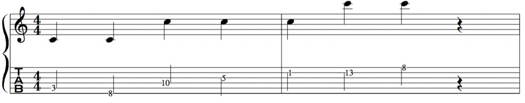 エレキギター初心者講座 フレットと音の関係を覚える
