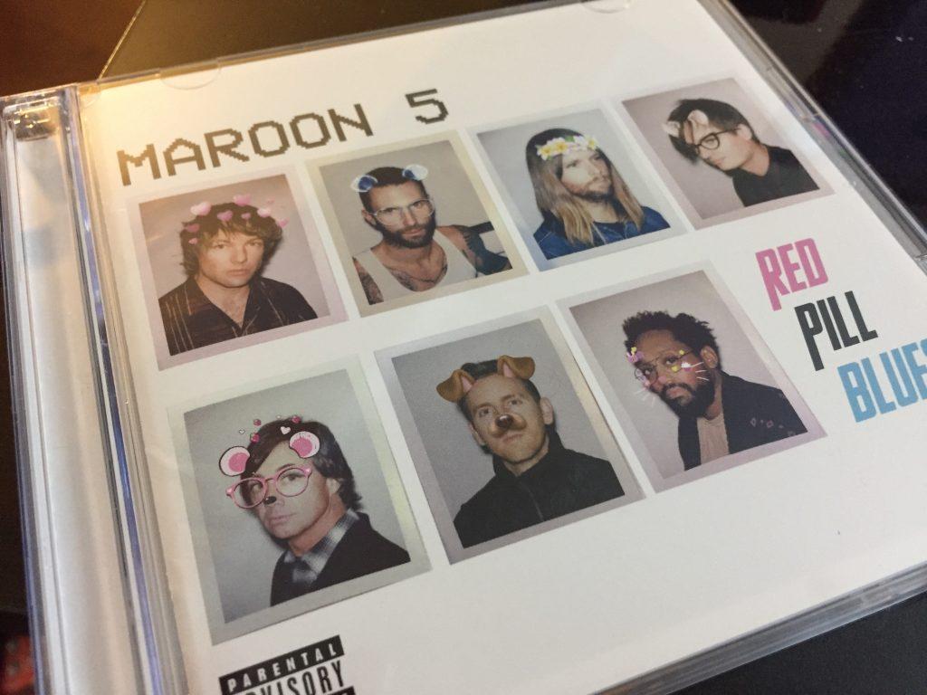 Maroon 5新作 RED PILL BLUES