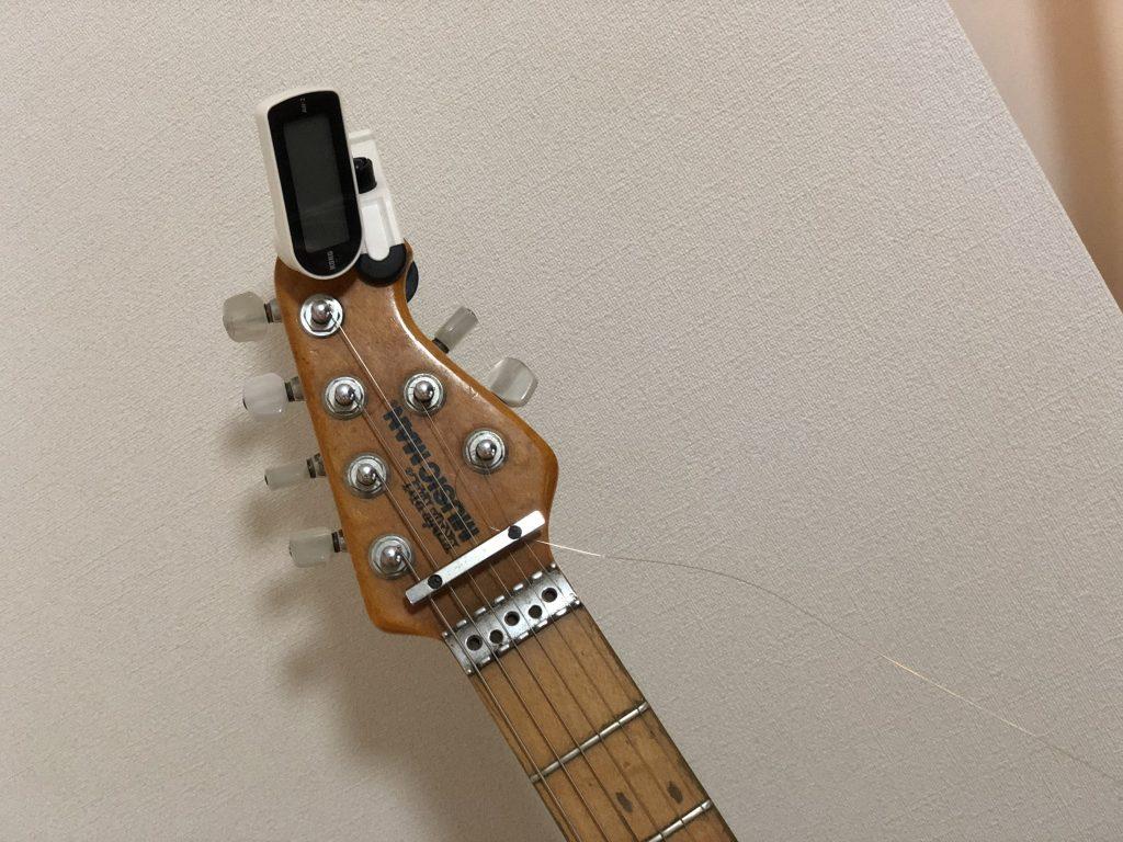 エレキギター初心者講座 ヘヴィーで暖かいトーン〜半音下げチューニングとは