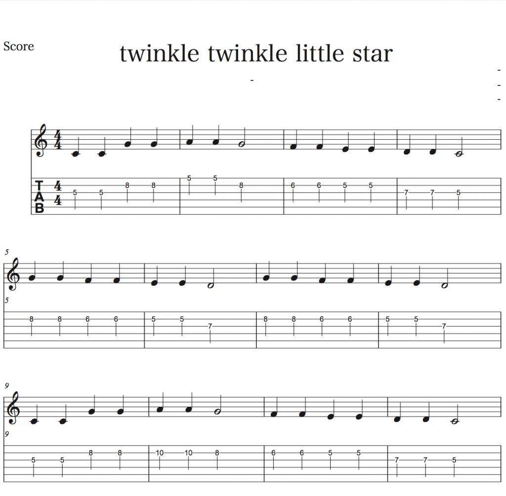 エレキギター初心者講座 初心者でも弾ける簡単な曲をギターで弾いてみよう1